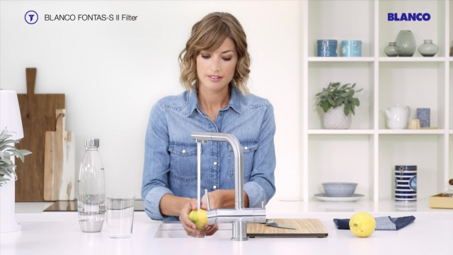Get table water in an instant with the FONTAS-S II.