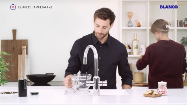 Making tea has never been easier – brew tea directly from the tap